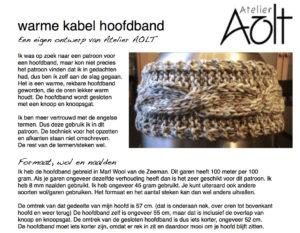 Warme kabel hoofdband-03-02-17