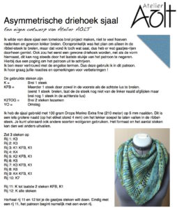 sjaal-driehoek